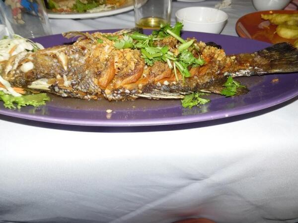 Рыбка deep-fried