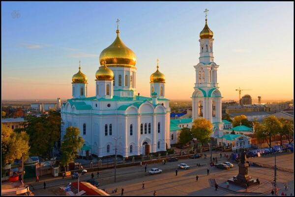 Собор Рождества Пресвятой Богородицы в Ростове- на- Дону