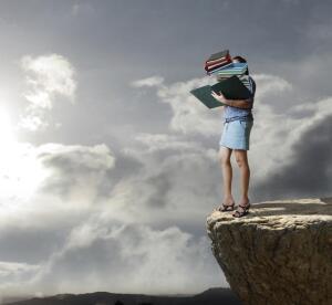 Куда же вы уходите, книги? Остров Дураков