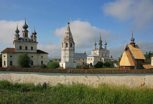 Юрьев-Польский, Михайло-Архангельский монастырь (XVII век)