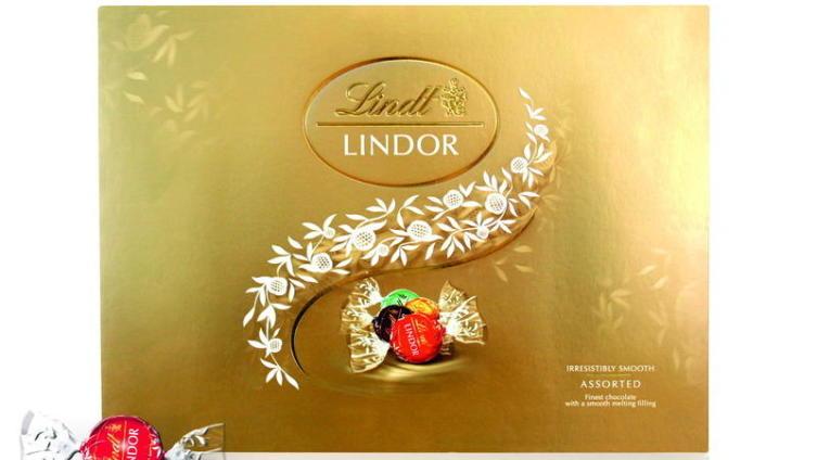 Набор Lindor Ассорти от Lindt