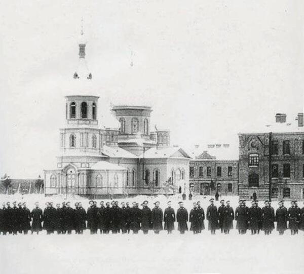 Храм Преображения Господня 147-го пехотного Самарского полка в Ораниенбауме