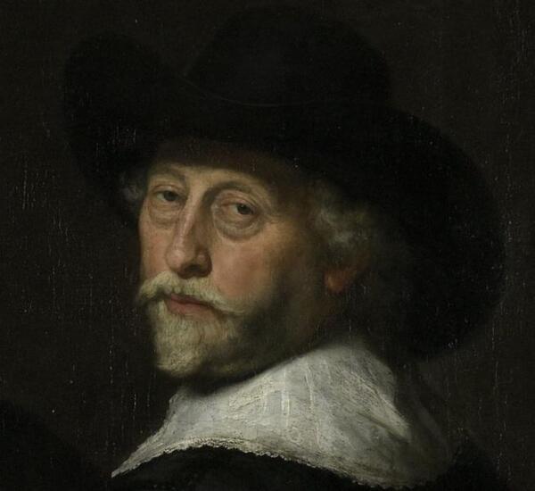 Говерт Флинк, Четыре командира гражданской гвардии Амстердама, фрагмент «Якоб Виллекенс»