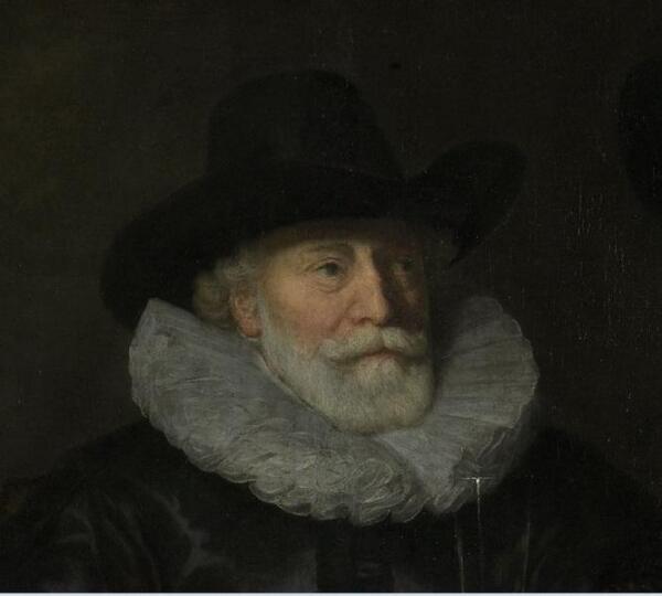 Говерт Флинк, Четыре командира гражданской гвардии Амстердама, фрагмент «Питер Реаэль»