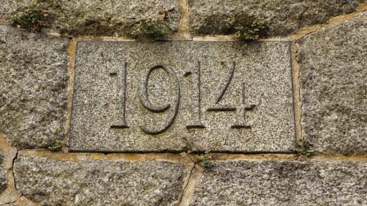 В 2014 году отмечали 100 лет с начала Первой Мировой войны