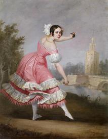 Antonio Cabral Bejarano (1798–1865), Танцовщица болеро