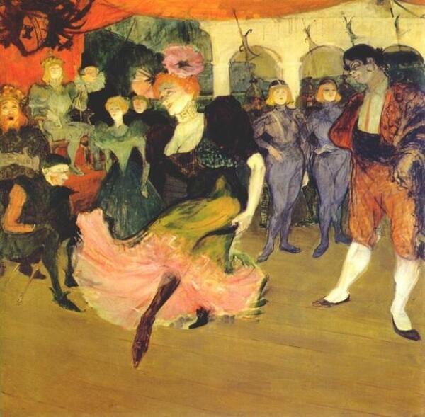 Тулуз-Лотрек. Танцовщица болеро, 1895