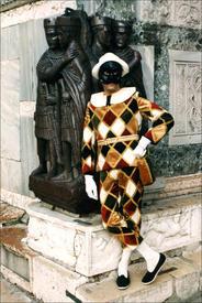 Венцианская маска Арлекин