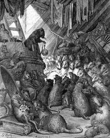 Жан де Лафонтен «Совет мышей»: «Мы мастера учить других! А если дело вдруг дойдёт до нас самих, То исполнять нам очень трудно».