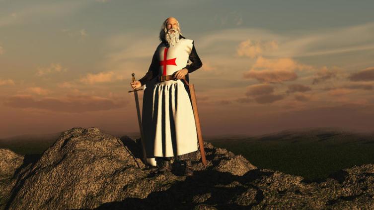 Средневековая Европа. Кто такие рыцари-монахи? Орден Тамплиеров