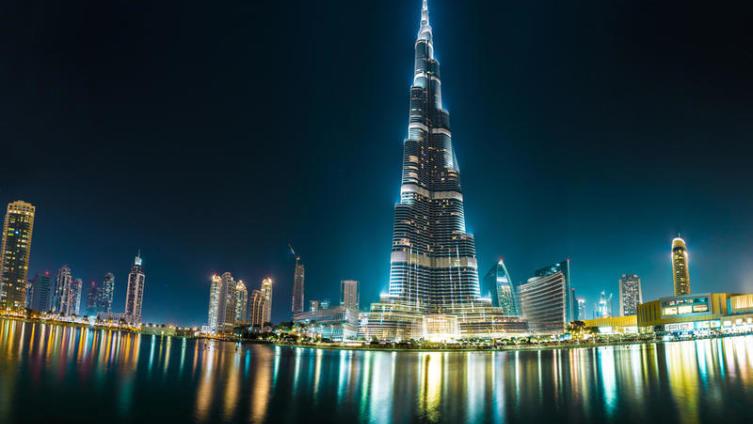 Самое высокое здание на планете «Бурдж Халифа»