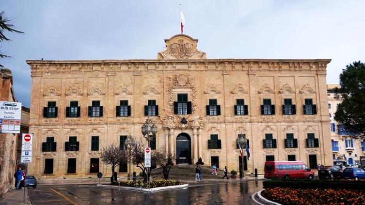 Современный офис премьер-министра Мальты