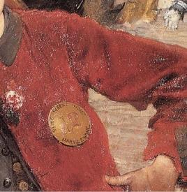 Жюль Бастьен Лепаж, Лондонский чистильщик, фрагмент «Бляха»