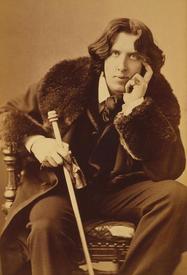 Оскар Уайльд в бобровой шубе.