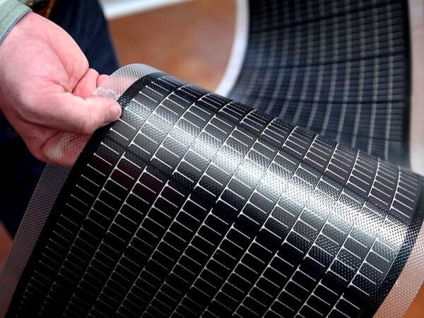 Солнечные панели рулонного типа