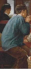 Кабалье Лассаль Камил Леопольд, В железнодорожном вагоне, фрагмент «Мастеровой»
