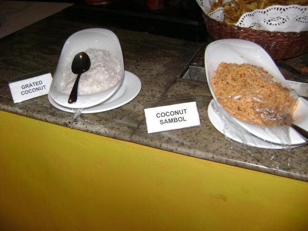 Блюда из кокоса (ланкийсие)
