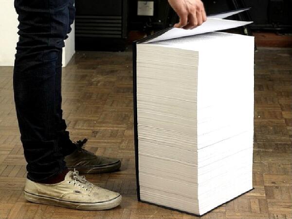 Масштаб подарочной Википедии