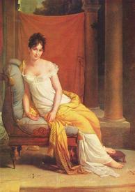 Мадам Рекамье изображена на картине Ф. Жерара (1802) в шмизе из легкой белой ткани.