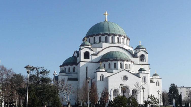 Белград. Собор святого Саввы