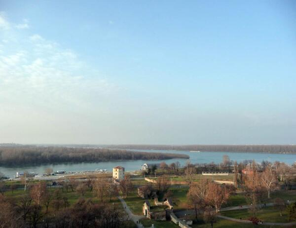 Белград. Дунай и Сава
