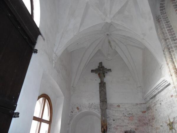 Вход в костел Франциска Ассизского
