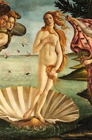 Сандро Боттичелли. «Рождение Венеры». 1485
