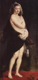 Рубенс обожал пышные формы и обрел их в своей жене Елене Фурмент, которую изображает на многих картинах.