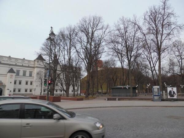Вид восстановленного Дворца правителей