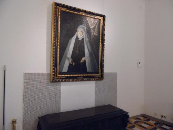 Портрет королевы Боны во дворце