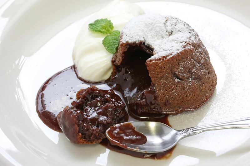 Как приготовить шоколадный фондан?