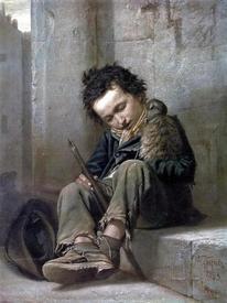 Василий Перов «Савояр». 1863.