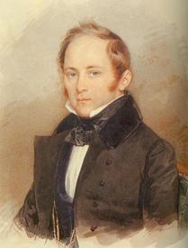 Портрет А.А.Бобринского, 1836 год
