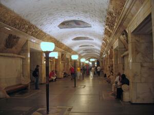 Московское метро. Откуда взялись мозаики «Новокузнецкой»?