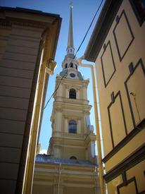 В крепости. Вид на собор.