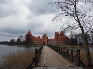 Тракай: где туристу прогуляться? Островной Замок