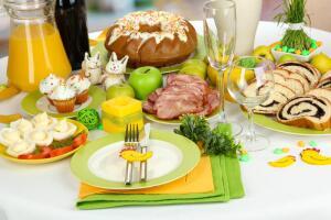 Каким должен быть пасхальный стол?