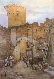 Этторе Рознер Франц, Арка Аннунциата