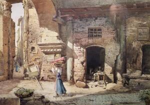 По старому городу - с художником. Каким был Рим 150 лет назад?