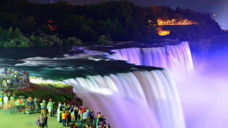 Что не покажут вам на Ниагарском водопаде?