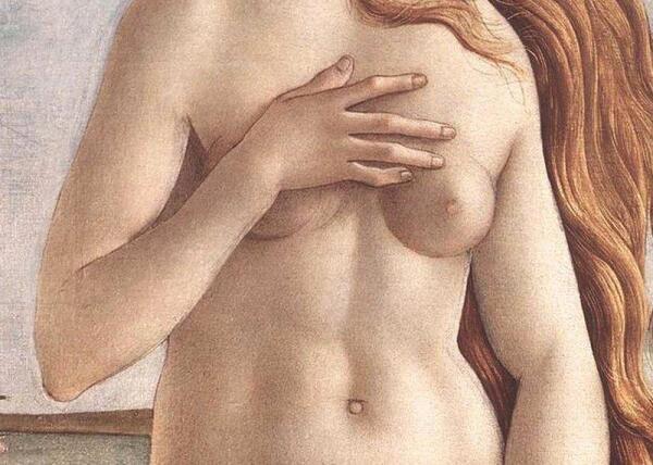 Фрагмент картины Сандро Боттичелли