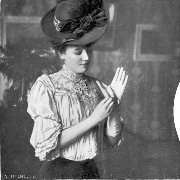Женщина и перчатки, 1905 г.