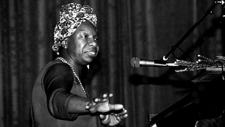 Нина Симон на концерте в Морле в 1982 году