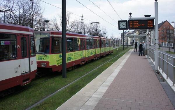 Станция метро на поверхности