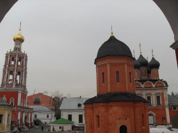Древний Собор святителя Петра, архитектор Алевиз Новый