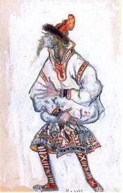 Н.Рерих. Эскизы к балету