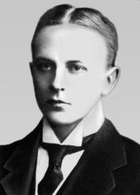 Макс Фасмер в год окончания гимназии