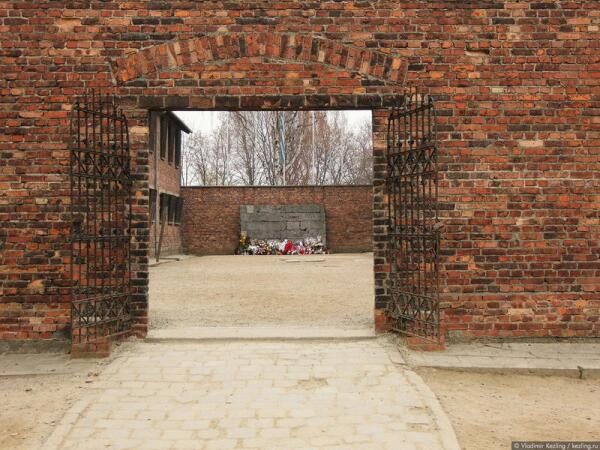 Польша. Освенцим. Концентрационный лагерь Аушвиц-I