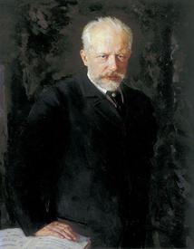 Портрет Чайковского кисти Н. Кузнецова