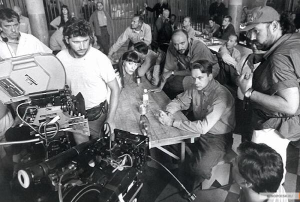 Кадр со съёмок фильма